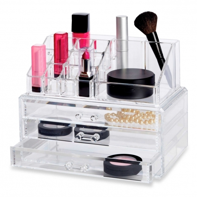 Fantastic 13 Fun Diy Makeup Organizer Ideas For Proper Storage Vanities Bed Bath And Beyond Storage Containers