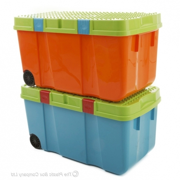 Fascinating Plastic Storage Boxes With Wheels Plastic Storage Containers With Wheels