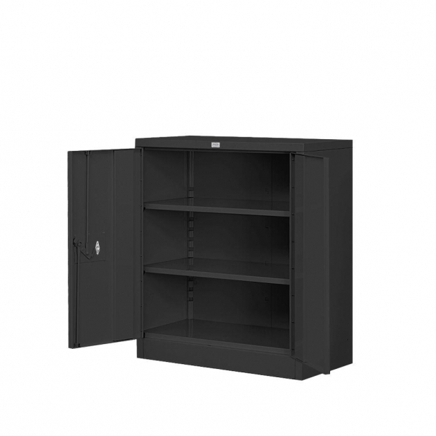 Fascinating Rubbermaid Fasttrack 30 In Garage Base Cabinet In Black Rubbermaid Garage Storage Cabinets