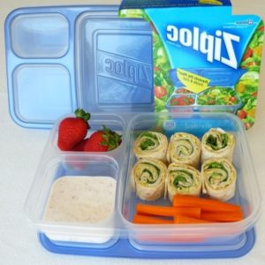 Divided Food Storage Containers