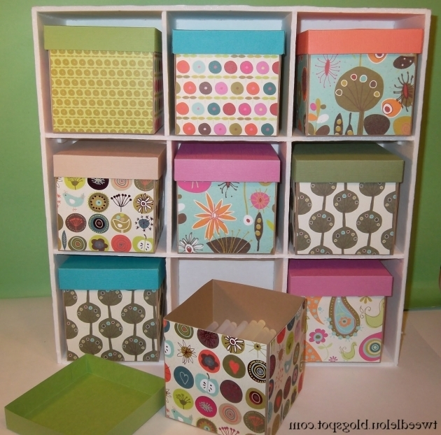 Gorgeous Diy Small Storage Box Crafthubs Diy Cube Storage Bins
