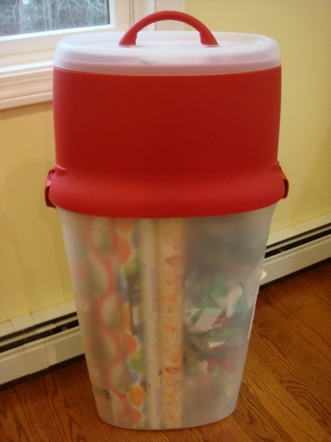 Gorgeous Wrapping Paper Storage Container Rhama Home Decor Gift Wrap Storage Container