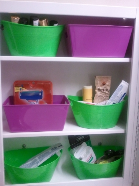 Image of Dollar Tree 2014 How To Organize Medicine Cabinet Containers Cheap Dollar Tree Storage Bins