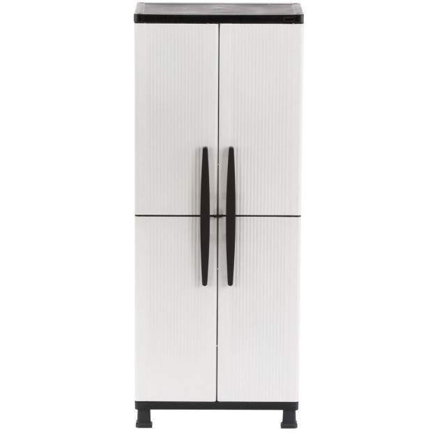 Image of Plastic Free Standing Cabinets Garage Cabinets Storage Home Depot Plastic Storage Cabinets