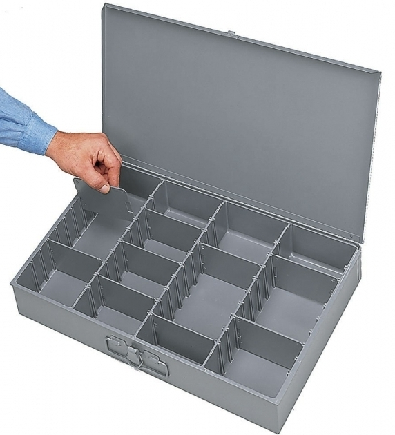 Image of Small Parts Storage Divided Storage Locking Storage Bins Small Parts Storage Containers