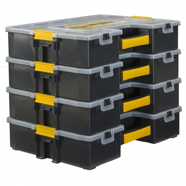 Image of Stanley Stst14027 Small Parts Organizer Storage Box Container Small Parts Storage Containers