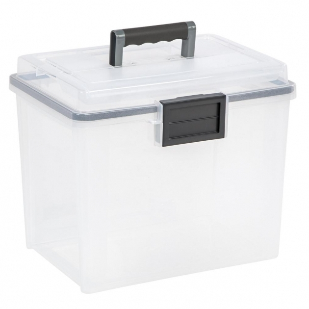 Image of Storage Bins Totes Storage Organization The Home Depot Weather Tight Storage Containers
