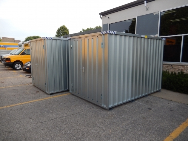 Image of Temporary Portable Storage Unitpod Rental Iowa City Cr Rent A Pod Storage Container