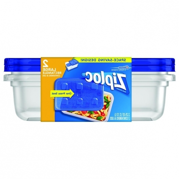 Image of Ziploc 225 Qt Large Rectangle Storage Container 70941 The Home Ziploc Storage Containers
