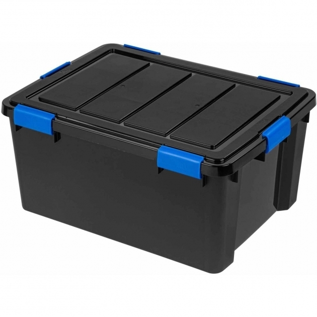 Image of Ziploc Weathershield Storage Box Large Walmart Ziploc Storage Bins