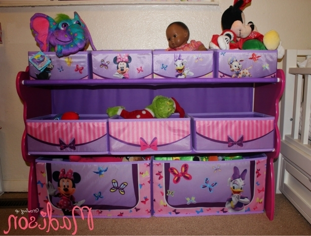 Incredible Best Delta Toy Organizer Photos 2016 Blue Maize Mickey Mouse Storage Bins