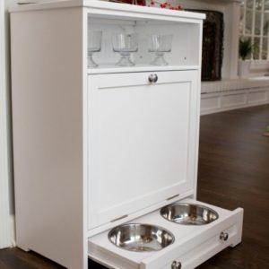 Pet Food Storage Cabinet