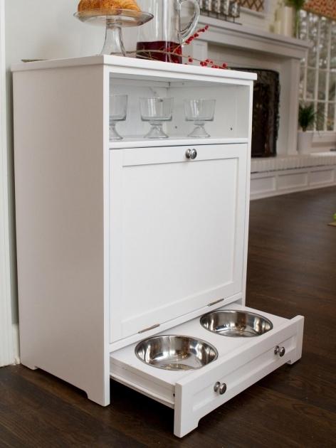 Pet Food Storage Cabinet Storage Designs
