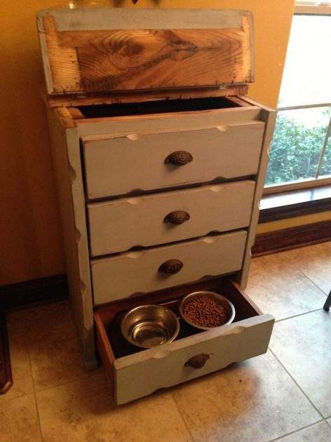 Incredible Pet Food Storage Cabinet With Bowls Creative Cabinets Decoration Pet Food Storage Cabinet