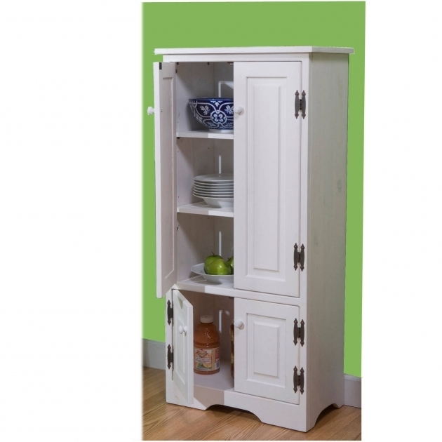 Incredible Versatile Wood 4 Door Floor Cabinet Multiple Colors Walmart Food Storage Cabinet With Doors