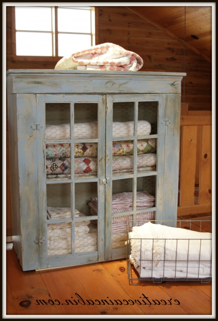 Inspiring Creative Cain Cabin Quilt Cabinet Makeover Blanket Storage In The Quilt Storage Cabinets