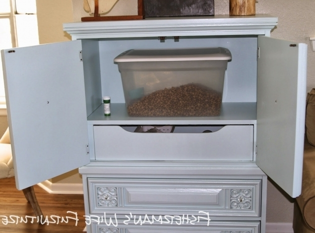 Inspiring Dog Food Storage Cabinet With Bowls Pictures Home Furniture Ideas Pet Food Storage Cabinet