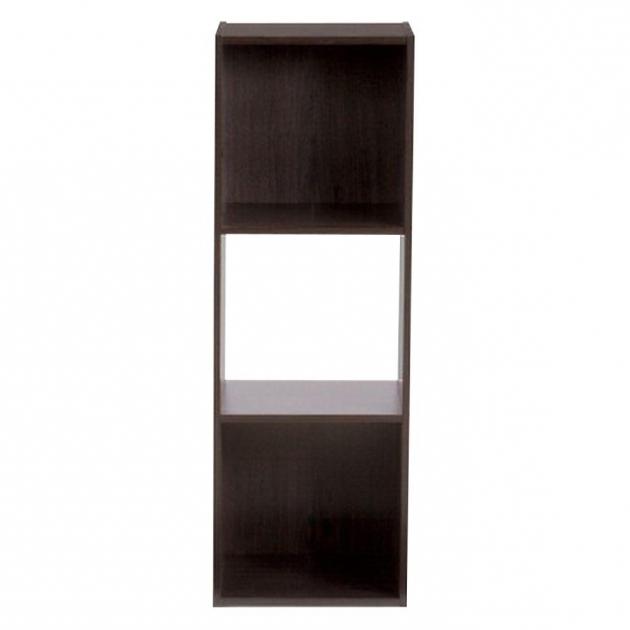 Marvelous Closetmaid 12 In W X 36 In H Espresso Stackable 3 Cube Organizer Closetmaid Storage Bins