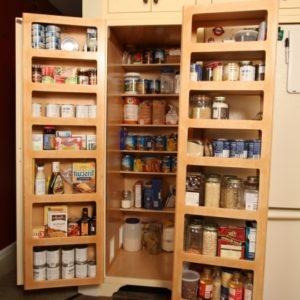 Food Storage Cabinet With Doors