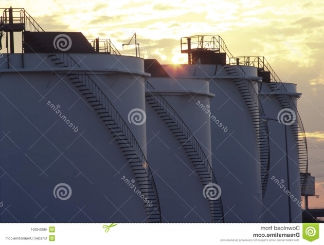 Outstanding Fuel Storage Containers Stock Photo Image 46554004 Fuel Storage Containers