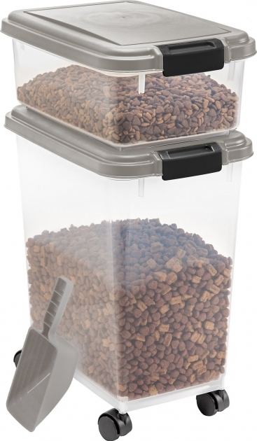 Outstanding Iris Airtight Food Storage Container Scoop Combo Chromeblack Iris Storage Containers