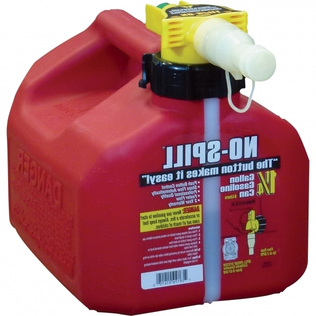 Outstanding No Spill Gas Can 1 14 Gallon Model 1415 Gas Cans Northern Fuel Storage Containers