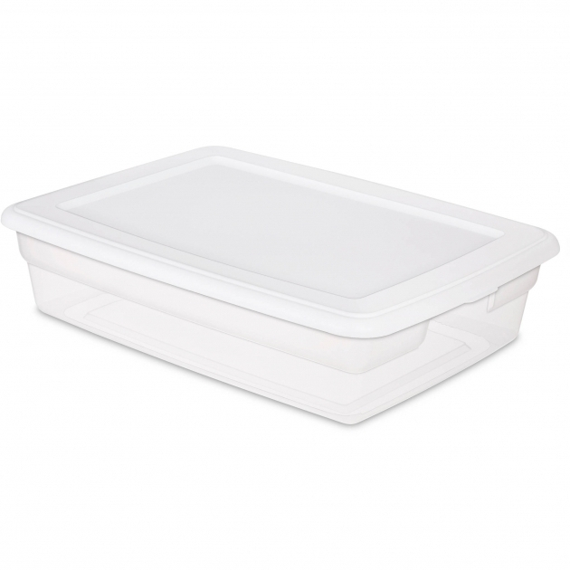 Outstanding Sterilite Plastic Storage Boxes Long Plastic Storage Bins