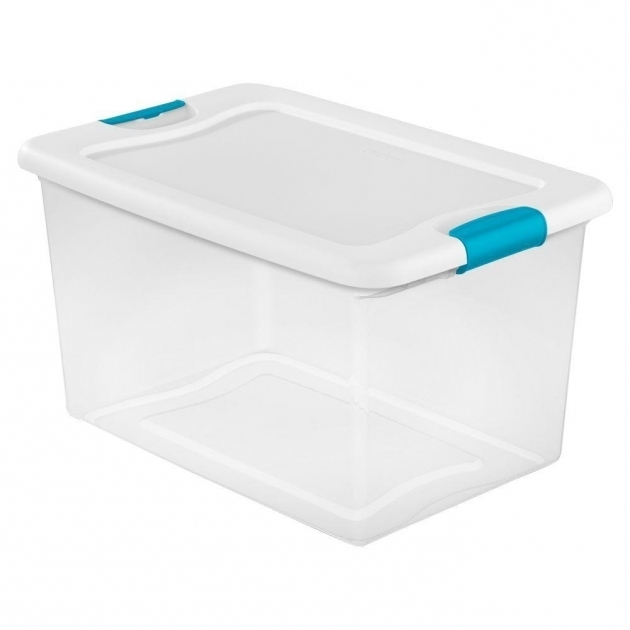 Outstanding Storage Bins Totes Storage Organization The Home Depot Plastic Storage Bins With Lids