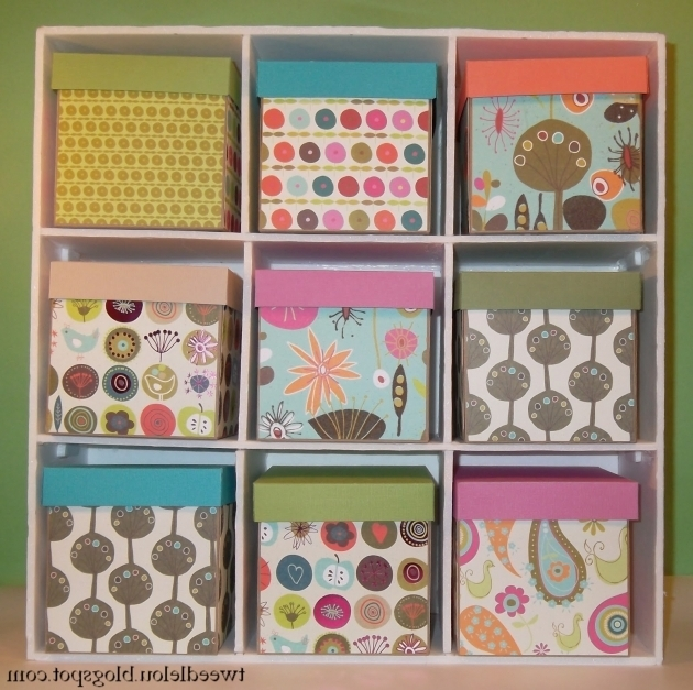 Outstanding Tweedlelou Diy Small Storage For Under 10 Diy Cube Storage Bins