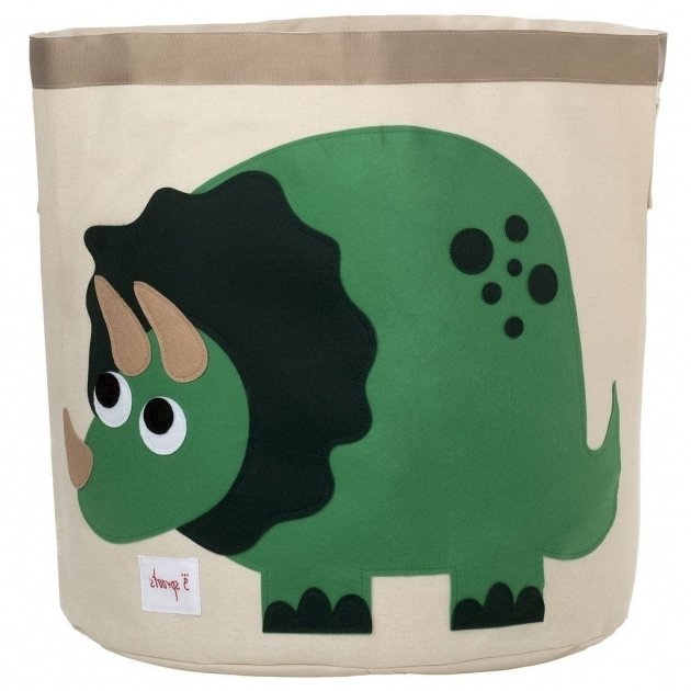 Picture of 3 Sprouts Dinosaur Storage Bin Reviews Wayfair Dinosaur Storage Bin