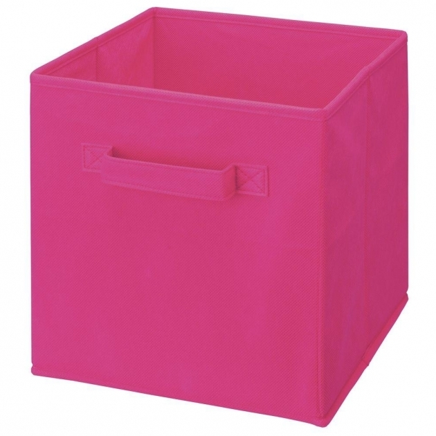 Picture of Pink Cube Furniture Storage Cube Storage Accessories Plastic Cube Storage Bin