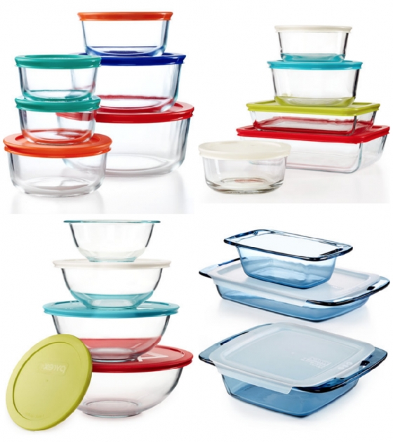 Remarkable Macys Pyrex 22 Piece Food Storage Container Set Just 2499 Pyrex 22 Piece Food Storage Container Set