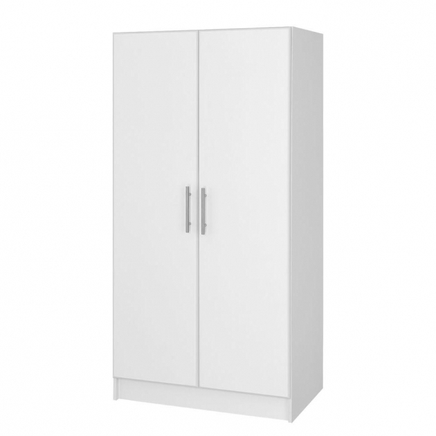 Stunning Closetmaid 72 In H X 24 In W X 1525 In D Laminate Storage White Storage Cabinets With Doors