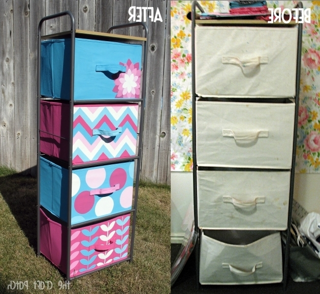 Stunning The Craft Patch Painted Canvas Bins Diy Cube Storage Bins