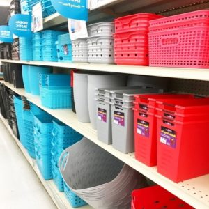 Big Lots Plastic Storage Bins