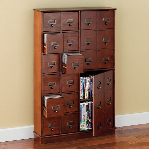 Stylish Cd And Dvd Storage Cabinet With Doors Oak Finish Creative Dvd Storage Cabinet With Doors