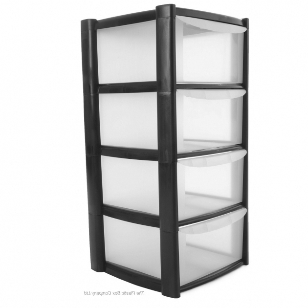 Stylish Drawer Four Plastic Drawer Storage Elfa Shelving Tower Unit Plastic Storage Containers With Drawers