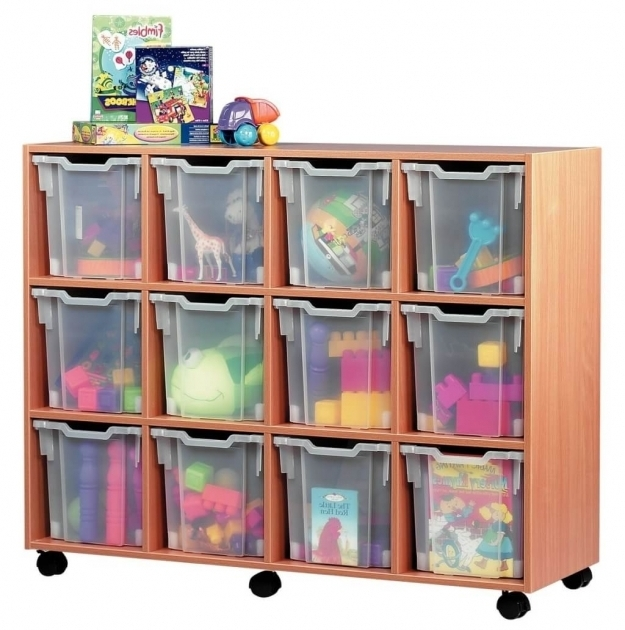 Stylish Furniture Large Pink Storage Bin For Toys With Transparent Plastic Cube Storage Bin