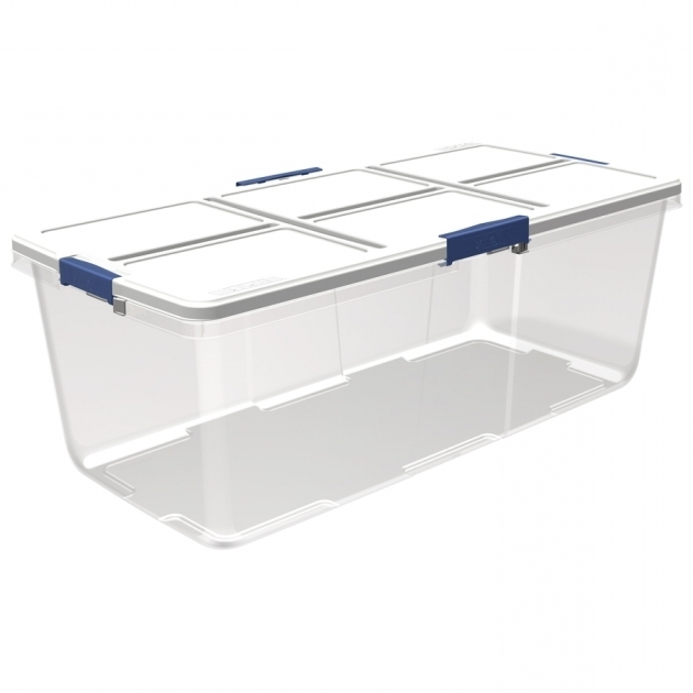 Stylish Shop Plastic Storage Totes At Lowes 100 Gallon Storage Bin