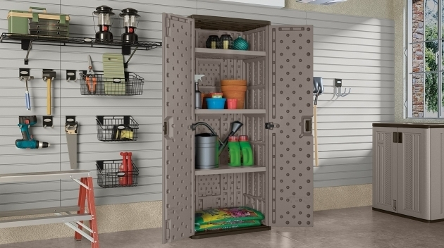 Stylish Tall Storage Cabinet Suncast Corporation Suncast Base Storage Cabinet