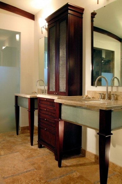 Alluring 18 Savvy Bathroom Vanity Storage Ideas Hgtv Bathroom Countertop Storage Cabinets