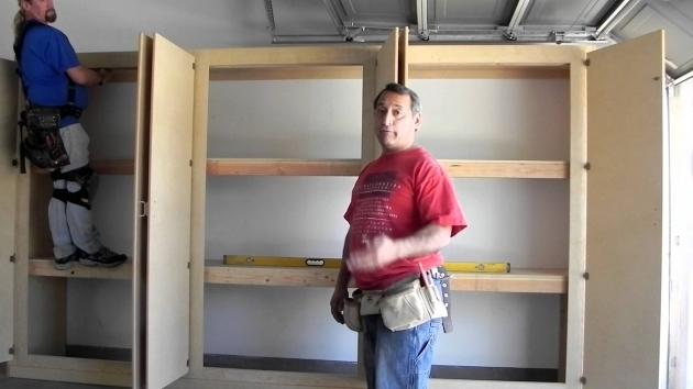 Alluring Mannys Organization Station Herculean Garage Storage Cabinetshow How To Build Storage Cabinets