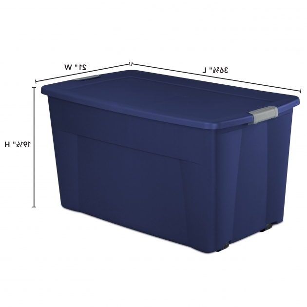 Picture of Tote With Wheels Storage Bins With Wheels