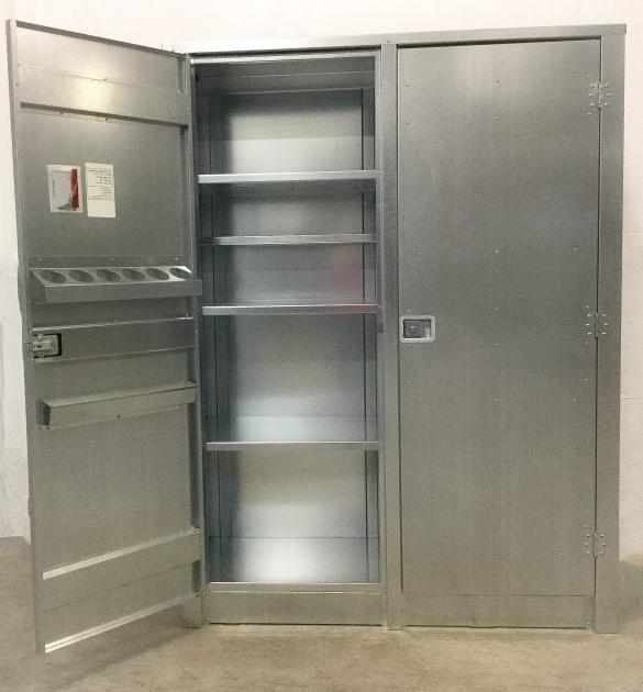Alluring Metal Storage Cabinet With Doors Premier Door Company Metal Storage Cabinets With Doors