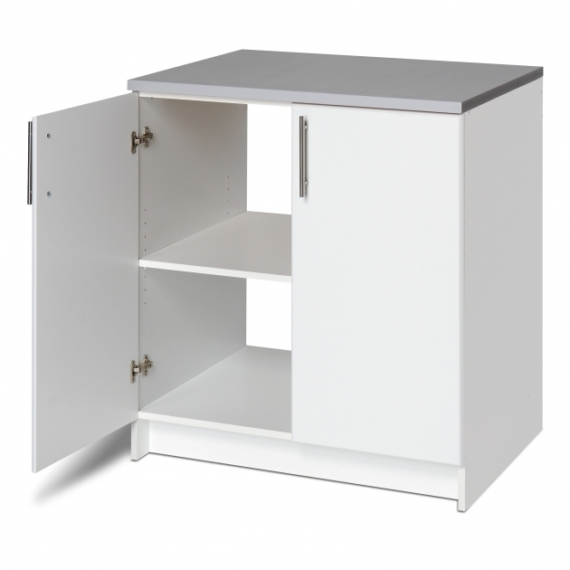 Alluring Prepac Elite Storage 36 H X 32 W X 24 D White Base Cabinet Sterilite 2 Shelf Storage Cabinet