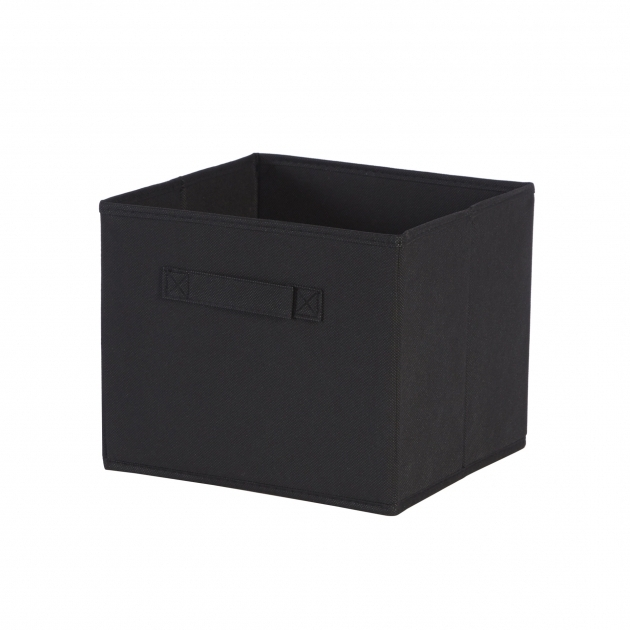 Amazing Zipcode Design Decker Foldable Fabric Storage Baskets In Black White Fabric Storage Bins