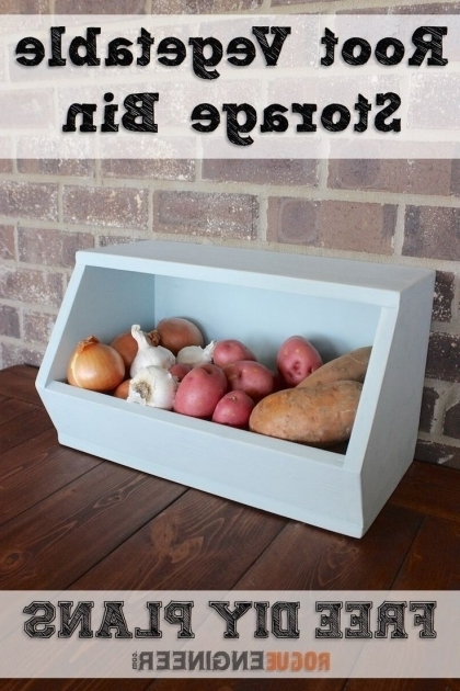 Awesome 17 Best Ideas About Vegetable Storage On Pinterest Onion Storage Wooden Vegetable Storage Bin
