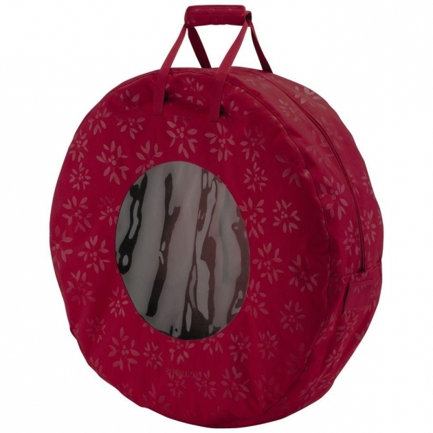 Image of Plastic Wreath Container In Wreath Storage 36 Inch Wreath