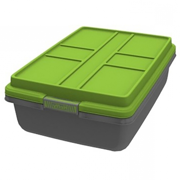 Awesome Shop Hefty 52 Quart Underbed Tote With Latching Lid At Lowes Hefty Storage Bins