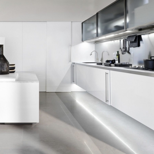 Awesome White Kitchen Cabinets With Granite Countertops White Metal Frame Floating Storage Cabinets